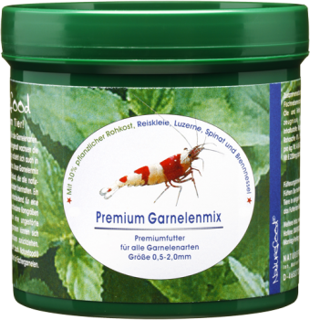 Naturefood Premium Garnelenmix - Garnelenfutter